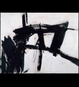 Franz Kline. Vawdavitch, 1955. Oil on canvas, 158.1 x 204.9 cm. Museum of Contemporary Art Chicago, © ARS, NY and DACS, London 2016. Photograph: Joe Ziolkowski.