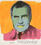 Andy Warhol. Vote McGovern, 1972. Colour screenprint. © 2016 The Andy Warhol Foundation for the Visual Arts, Inc./Artists Rights Society (ARS), New York and DACS, London.