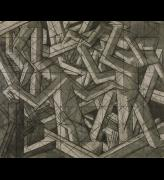 David Bomberg. Study for In the Hold, c1914. Charcoal on paper, 54.8 × 65.4 cm. Tate, London. Presented by the Friends of the Tate Gallery 1967. © Tate.