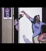 <i>Three Studies of Isabel Rawsthorne</i>, 1967. Oil on canvas (triptych). 