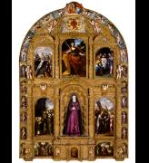 Altarpiece of the Virgin of Sorrows Mexico, c. 1690. © Fundacion Televisa, Mexico