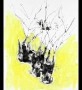 Georg Baselitz. <em>Gelbe Spitzen,</em><strong> </strong>2010. Oil on canvas, 300 x 250 cm. © the artist. Photo: Jochen Littkemann. Courtesy White Cube.
