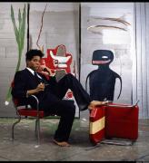 Brooklyn Museum, Basquiat 1985. Jean-Michel Basquiat. Photo by LIZZIE HIMMEL©