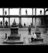 Kevin Bubriski<em>. Ee Bahal, Patan</em>, 1987. Gelatin silver print, 18 x 22 in. &copy; Collection of Kevin Bubriski