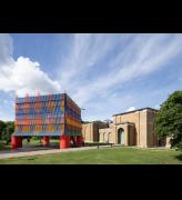 Dulwich Pavilion 2019: The Colour Palace, by artist Yinka Ilori and architects Pricegore. Photo: Adam Scott.