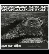 Save Our Planet, Save Our Cities poster featuring Richard Buckminster Fuller's Dome Over Manhattan scheme of the early 1960s, 1971. Unknown designer © V&A Images
