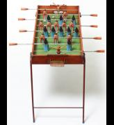 Nancy Fouts. Foosball Madonna Table, 2016. Wood and oil paint, 71 x 90 x 48 cm. © Nancy Fouts, Courtesy of Flowers Gallery.