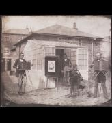 William Henry Fox Talbot. William Henry Fox Talbot and Nicolaas Henneman at the Reading establishment, 1846. © National Media Museum, Bradford / Science & Society Picture Library.