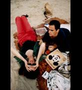 Nan Goldin. C.Z. and Max on the Beach, Truro, Massachusetts, 1976. Silver dye bleach print, printed 2006, 23 1/8 x 15 1/2 in (58.7 x 39.4 cm). The Museum of Modern Art, New York. Acquired through the generosity of Jon L. Stryker. © 2016 Nan Goldin.