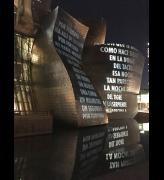 Jenny Holzer: Thing Indescribable, Guggenheim Bilbao. Photo: Veronica Simpson.