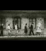 Laszlo Fejes. <em>Wedding, Budapest,</em> 1965. Silver gelatin print, 155 x 238 mm. Hungarian Museum of Photography. Copyright Hungarian Museum of Photography.