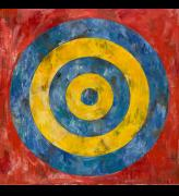 Jasper Johns. Target, 1961. Encaustic and collage on canvas, 167.6 x 167.6 cm. The Art Institute of Chicago c Jasper Johns / VAGA, New York / DACS, London. Photograph: c 2017. The Art Institute of Chicago / Art Resource, NY / Scala, Florence.