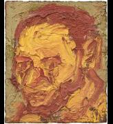 Leon Kossoff, Self-Portrait, 1971. Oil on canvas, 27.9 × 22.9 cm. Private collection, Europe. Copyright Leon Kossoff. Image courtesy Piano Nobile, London.