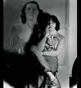 Maria Lassnig in her studio in New York, 1972. © Maria Lassnig Foundation.