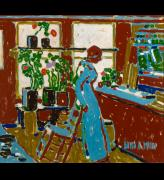 David Milne. Red, 1914. Milne Family Collection. Photograph: Michael Cullen, Toronto Canada. © The Estate of David Milne.
