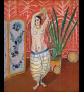 Henri Matisse, Odalisque with a Screen, 1923. Oil on canvas 61.5 x 50 