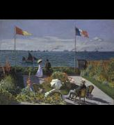 <p>Claude Monet. <em>Terrasse à Sainte-Adresse,</em> 1867. Oil on canvas, 98 x 130 cm. The Metropolitan Museum of Art, New York. © Metropolitan Museum of Art, dist.
