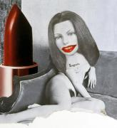 Linder. <em>Untitled, </em>1977. Photomontage on card. Courtesy of Stuart Shave/Modern Art, London.