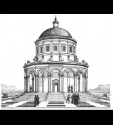 Raphael's 16-sided temple