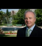 Michael Rush, founding director of the Eli and Edythe Broad Art Museum at Michigan State University. Photograph courtesy MSU.