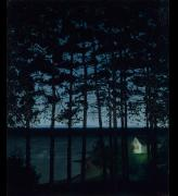 Harald Sohlberg. Fisherman's Cottage, 1906. Art Institute of Chicago, Gift of Edward Byron Smith.