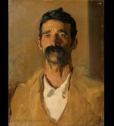 John Singer Sargent (1856–1925). <em>Study of a Sicilian peasant</em>, 1907. Oil on canvas, 60 x 46 cm. Copyright