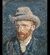 Vincent van Gogh<em>. Self-portrait with Felt Hat</em> 1888. Copyright: © Van Gogh 