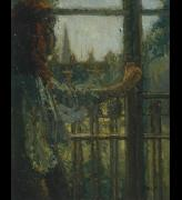 Walter Sickert (1860-1942). <em>Girl at a Window, Little Rachel</em>, 1907. Oil on canvas 50.8 x 40.6 cm. Tate. Accepted by HM Government in lieu of tax and allocated to Tate Gallery 1991. Copyright: Estate of Walter R Sickert. All rights Reserved DACS 2004