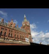 St Pancras Chambers (previously the Midland hotel), St Pancras station, London