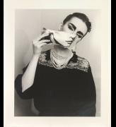 Linder. She/She (detail), 1981, printed 2007. 14 photographs, black and white, silver bromide print, on paper, 70.7 x 61.2 cm. Tate. © Linder.
