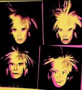 Self-Portrait, 1986. Synthetic polymer paint and silkscreen ink on canvas 