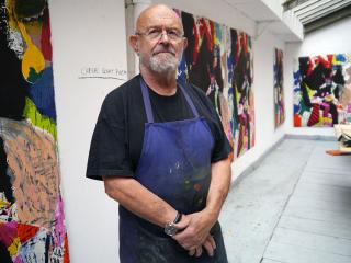 Jim Dine. © the artist.