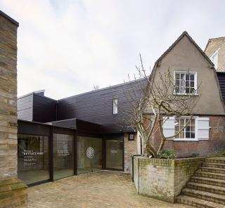 Kettle's Yard, Cambridge. New entrance. Fobert Architects © Hufton+Crow.
