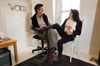 Stuart Kestenbaum and Susan Webster. Photograph: Leslie Bowman, 2014. Bowman Studio, Trescott Maine, USA.