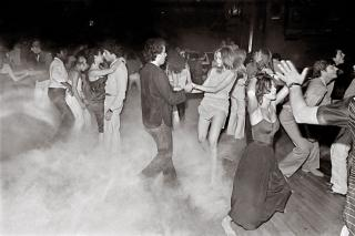 Bill Bernstein, dance floor at Xenon, New York, 1979. © Bill Bernstein / David Hill Gallery, London.