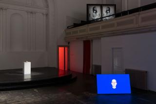 One and Other, installation view, Zabludowicz Collection, London, 2016. Photograph: Tim Bowditch.
