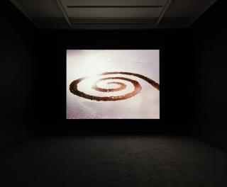 Robert Smithson: Hypothetical Islands, installation view, Marian Goodman Gallery, London. Photo: Lewis Ronald.