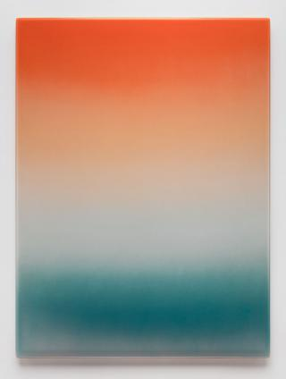 Mika Tajima. Art d'Ameublement (Isla Juan Bautista), 2020. Spray enamel, thermoformed PETG, 182.9 x 137.2 cm (72 x 54 in). Image courtesy of the artist and Kayne Griffin Corcoran. Copyright of the artist
