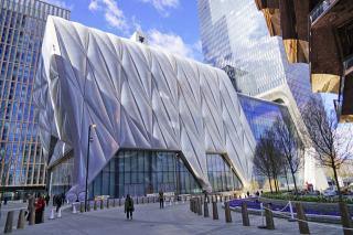 The Shed, New York, by Diller Scofidio + Renfro, lead architect and Rockwell Group, collaborating architect. Photo: Miguel Benavides.