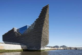 V&A Dundee, Scotland. View from the River Tay. © HuftonCrow.