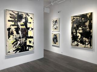 Epilogue: Michael West's Monochrome Climax, gallery view, 2021. Image courtesy of Hollis Taggart Gallery.