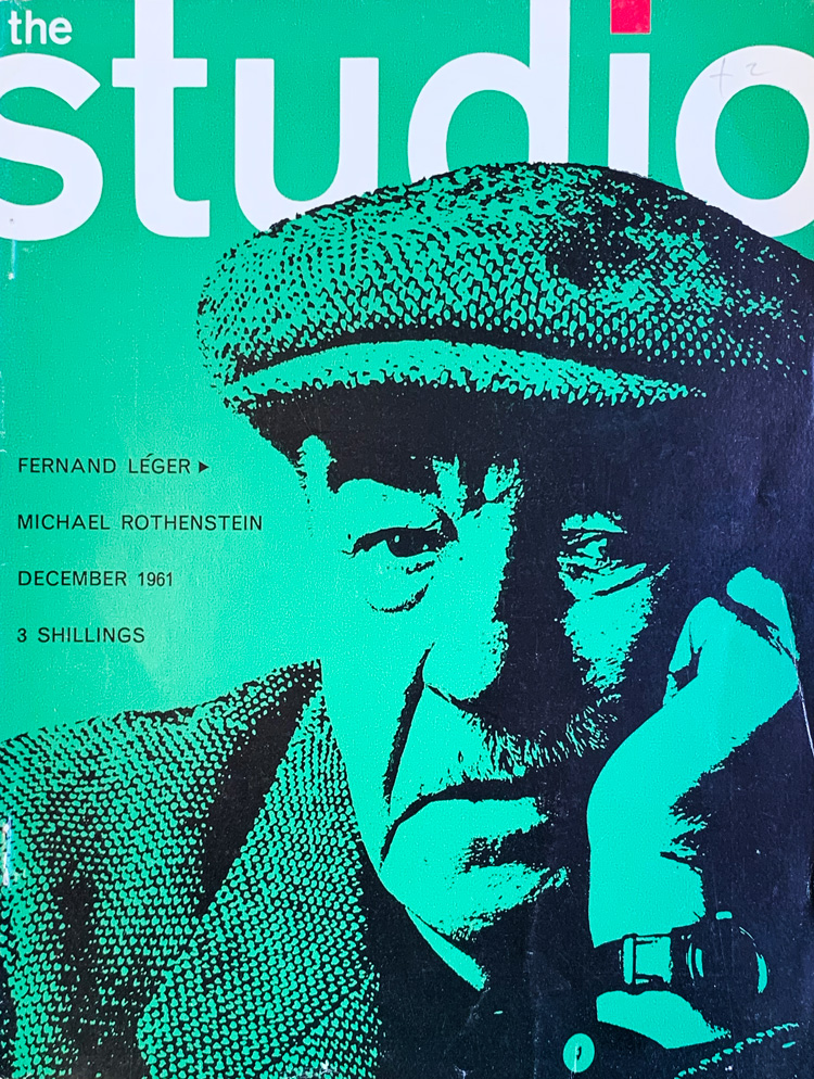 The Studio, December 1961, cover. Image © Studio International Foundation.