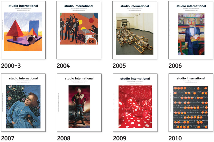 Studio International Yearbooks, 2000-03 to 2010.