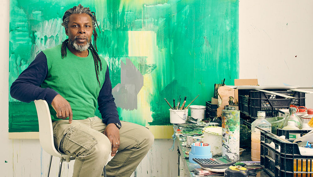 The unsettling depictions of nature in Hurvin Anderson's new paintings, based on photos from a 2017 trip to Jamaica, address his relationship with his ancestral homeland. He talks about the works and how lockdown changed his practice