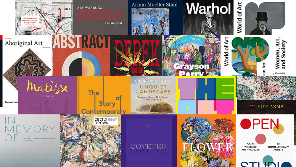 With many galleries and museums shut, art books have become more important than ever. Here are 20 of the best to appear this year