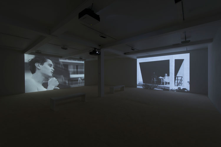 David Claerbout, the time that remains, installation view, Parasol unit, London, 2012. Photograph: Hugo Glendinning. Courtesy the artist and Parasol unit.