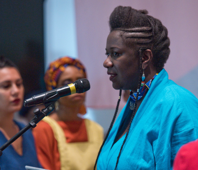 With Declaration of Independence at the Baltic, Asante makes space for womxn of colour to relate narratives and reflect on the nature of independence