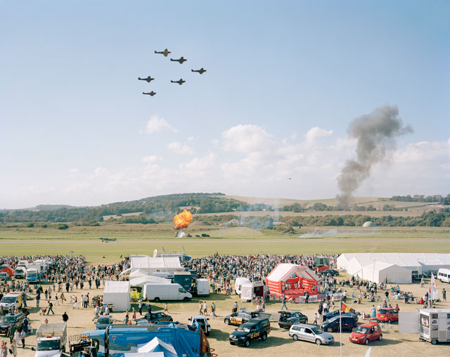 Simon Roberts. Battle of Britain Memorial Flight, Shoreham Air Show, West Sussex, 15 September 2007. Fujicolour crystal archive print. © the artist.