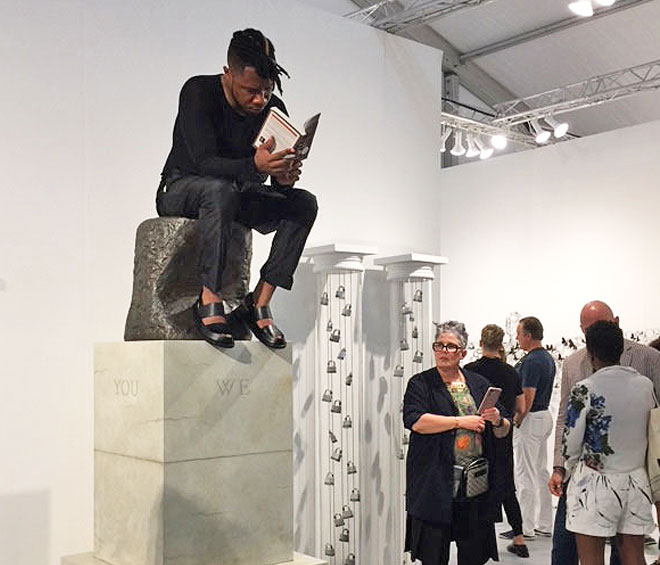 It was all systems go – quality art, media buzz, more space, more work – but with a lower attendance and many big collector names absent, America's premier art fair had a last hurrah undertow