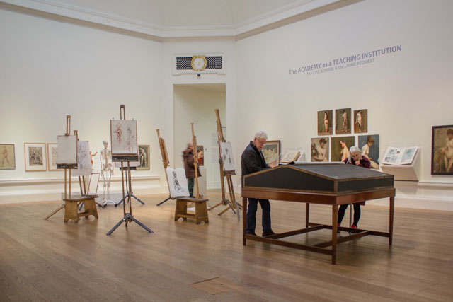 Ages of Wonder – Scotland's Art 1540 to Now, installation view, Gallery I, Life Drawing Room.